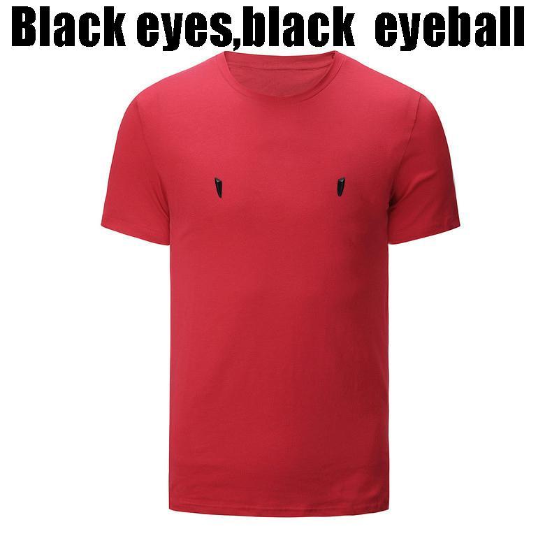 OCCHI Mens Designer T-shirt di lusso di nuova marca del progettista maniche corte Moda Top stampati vestiti casuali esterni 2020 Estate 6 colori M-3XL