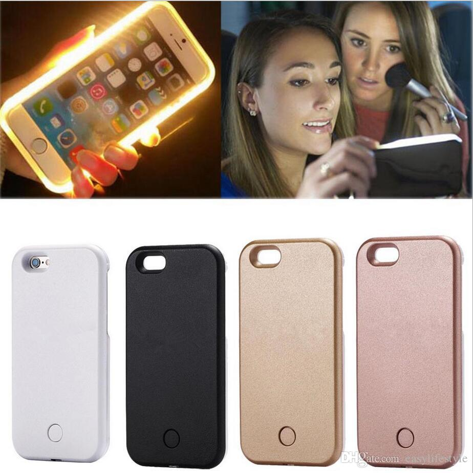 Illuminato Led Incandescente Torcia Elettrica Selfie Light Case Cover IPhone 6 6s 6plus 6splus 7 7plus 8 8plus X Da Easylifestyle, 3,1 €   ...