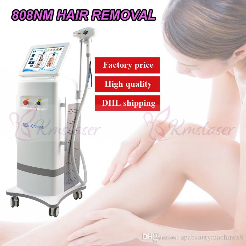 non channel 3000W high output power diode laser removal machine 808 facial hair reduction diode laser hair removal machine