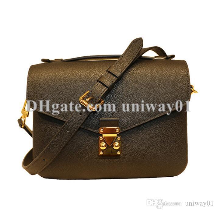 Cuir véritable femme sac à main sac à bandoulière fourre-tout féminin Messenger sac sac à main dame classique fleur ldilr