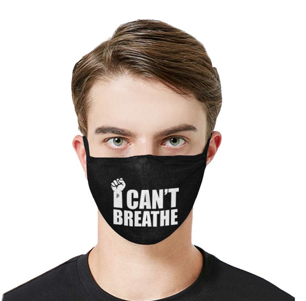 Venda rápida! Eu não posso Hálito Negro Lives Matéria Tubarão dos desenhos animados lavável Máscara Facial Máscaras Designer algodão reutilizáveis Máscara Camouflage Ciclismo