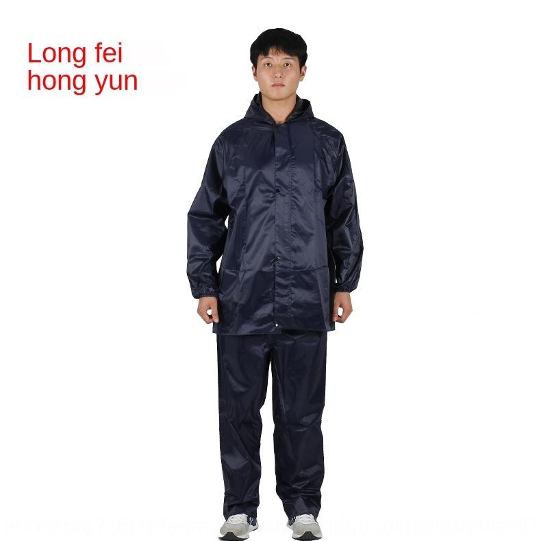 UCijQ Oxford Motorcycle electric vehicle cloth split raincoat suit male adult electric vehicle motorcycle riding labor protection outdoor ad