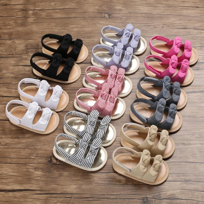 New Arrival Kid Toddler Baby Girls Cute Sandals Party Princess Sandals Summer Beach Shoes Infant Baby Girl Shoes A005