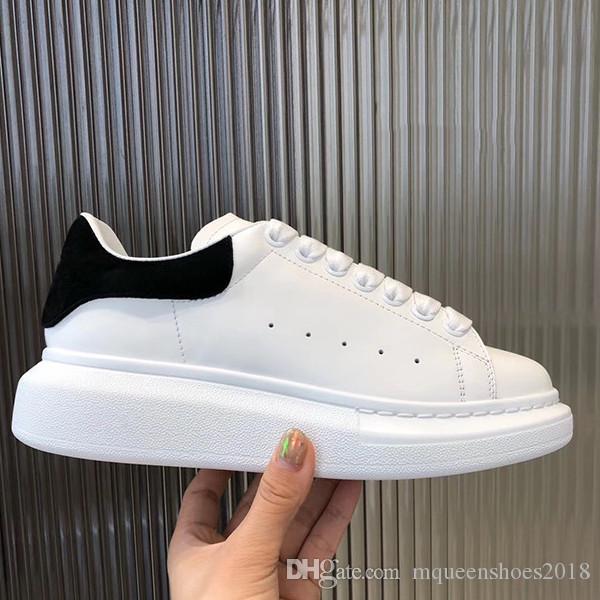 2020 Top qualité Chaussures Casual Femmes Hommes Formateurs Plate-forme en cuir Chaussures plates Casual Party Espadrilles Vintage Suede Sneakers