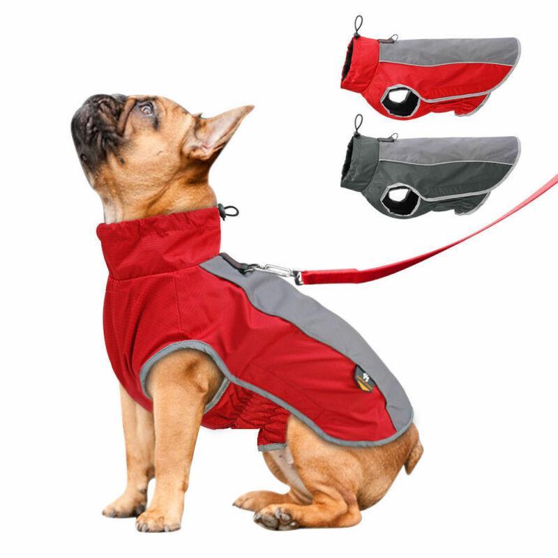 Популярный цвет блока собака необычные платья зима щенок жилет хлопок стеганая куртка чихуахуа пальто плюшевые пудель S-2XL водонепроницаемый