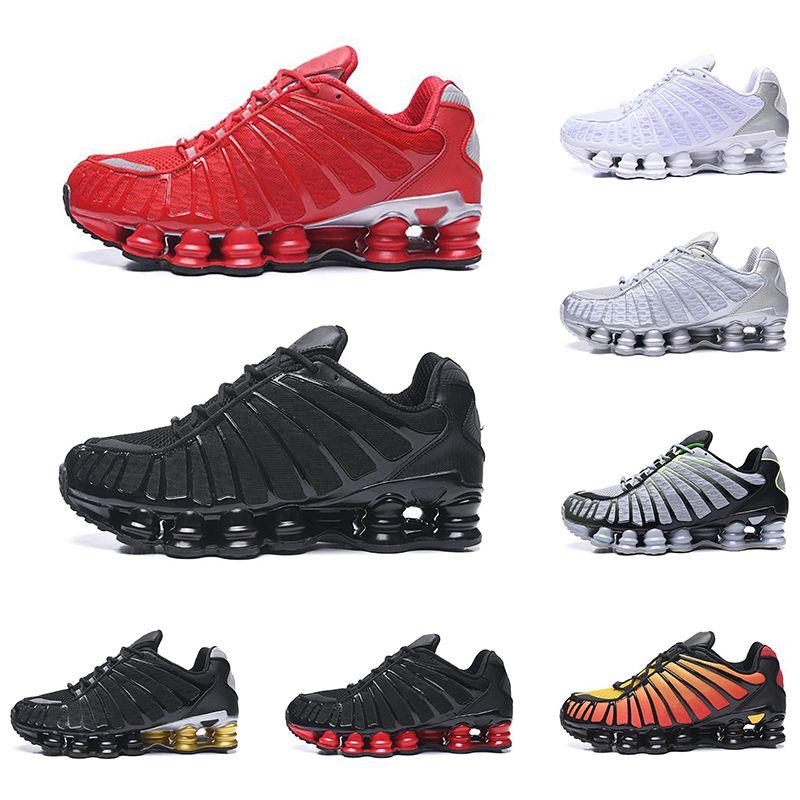 Lo nuevo TL zapatos para correr Universidad de plata azul metálico OZ NZ R4 Triple Negro Blanco Naranja rojo para hombre zapatillas de deporte entrenador deportivo corredores