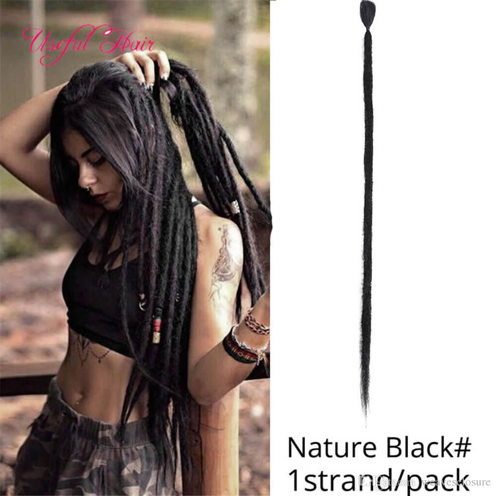 Dreads Extensions Dreadlock Crochet Hair Braid Bob Marley Synthetic Braiding Hair Extension Janet Collection Dread Locs Braided Synthetic