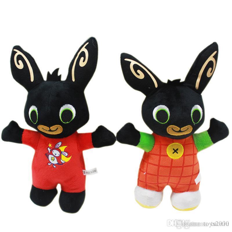 2019 Nova chegada Coelho Bing Bunny Bunny Soldado Plush Toy personalizado Cartoon Doll Toy Natal atacado