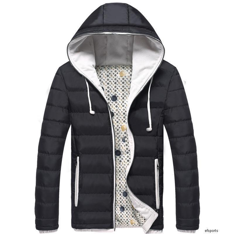 Пару подростковое теплое пальто мужская хлопка-ватник тенденция зимы короткий хлопок одежды H
