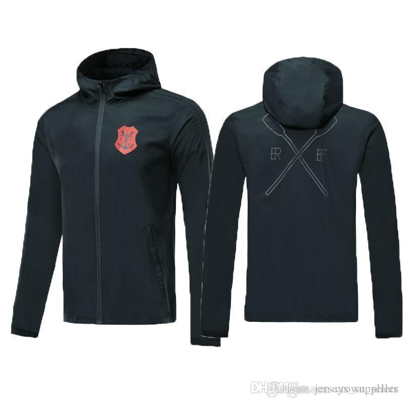 новая 2019 Chandal Фламенго дома куртка спортивного костюм футбола рубашка футбол Джерси Бразилия Фламандского Фламенго DIEGO Герреро