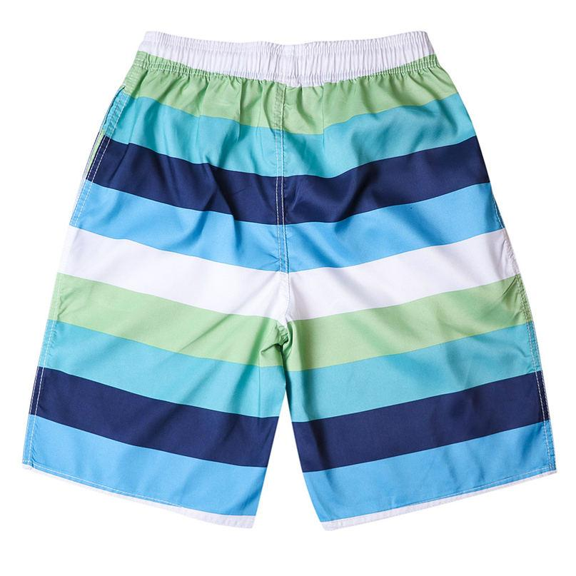 MensReusable Around Home Beach Shorts with Elastic Waistband