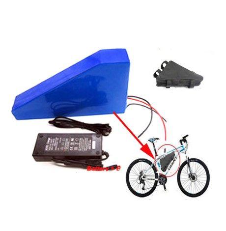 3500W 3000w 전기 자전거를위한 리튬 이온 Akku 72v 삼각형 건전지 72V 17.4Ah / 20Ah / 25Ah 리튬 건전지 팩