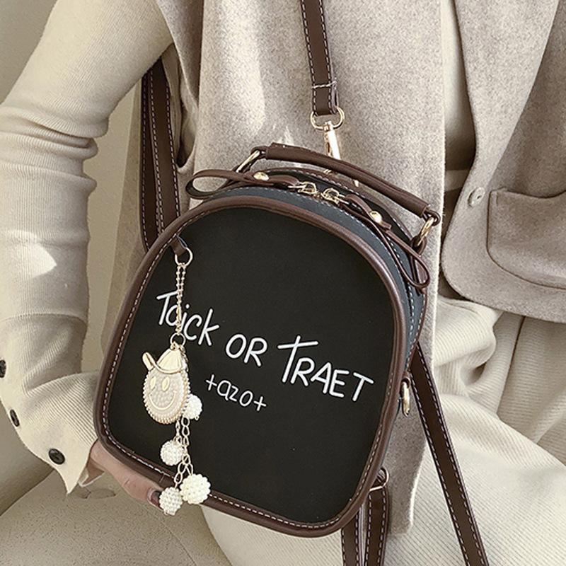 Женская дизайнерские сумки Lady Ji PU кожа досуг универсальный маленький рюкзак стиль многофункциональный плеча колледж bagNPS0