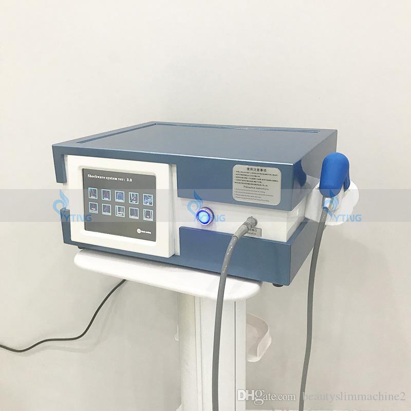 Equipo de alivio para el dolor Disfunción eréctil Máquina de terapia de onda de choque Máquina anti celulitis Cuerpo Adelgazante Conformación Acústica ED TRATAMIENTO DE TRATAMIENTO DE ARCHIVO