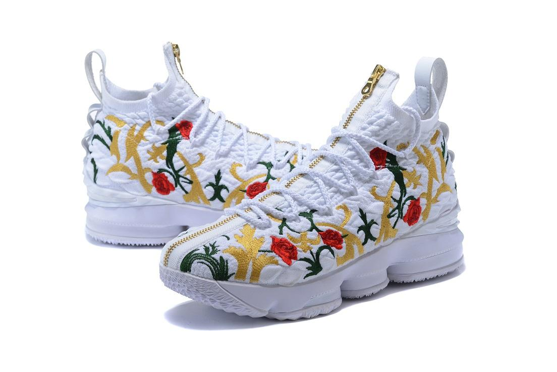 James45 Hot 15 Kings Cloak Basketball Shoes Cheap Sales with Box 15 KITH Performance Floral Shoes Free Shipping Store