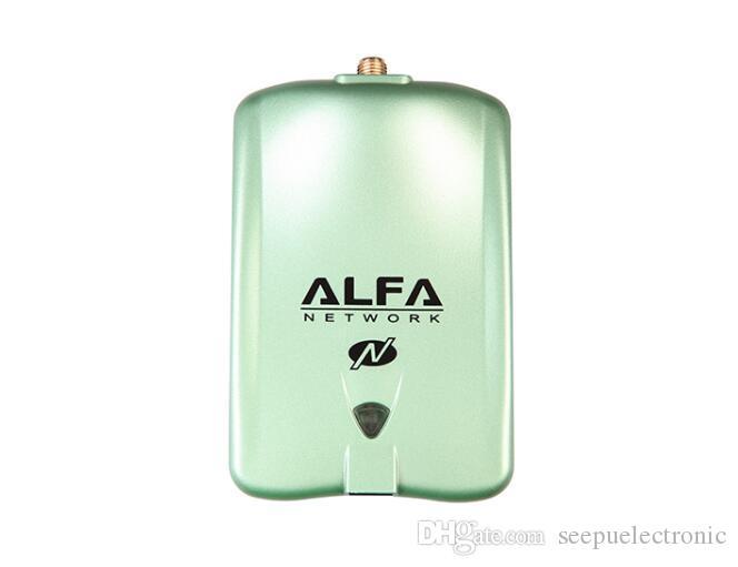 ألفا AWUS036NH معيار 802.11n مصنع 2000mW WIRELESS-N USB محول واي فاي السلطة العليا 2W RP-SMA