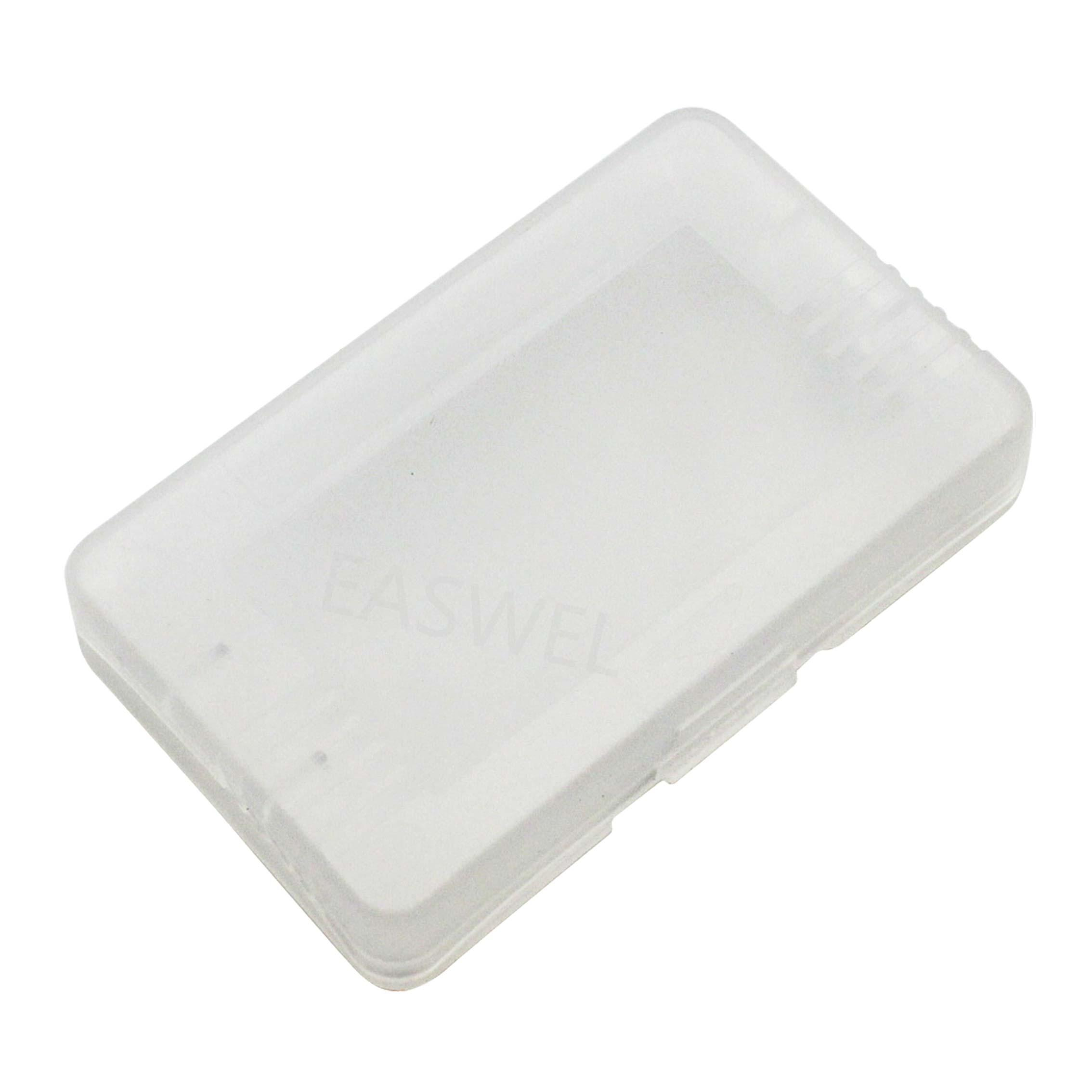 Estuche rígido de plástico transparente para Nintendo Game Boy Advance GBA SP GBM Cartucho de tarjeta de juegos GBA (caja)