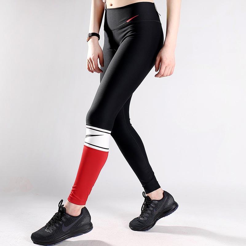 Frauen-Gamaschen-Mode-Frauen-Kleidung Yoga Outfits Hosen Jogger Letters Sport Druck beiläufige modische Hosen Größe S-XL