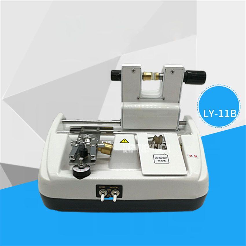 LY11B Lens Slotting Chamfering Machine Lens Processing Equipment Glass Slotting Machine Edging 110V/220V 80W