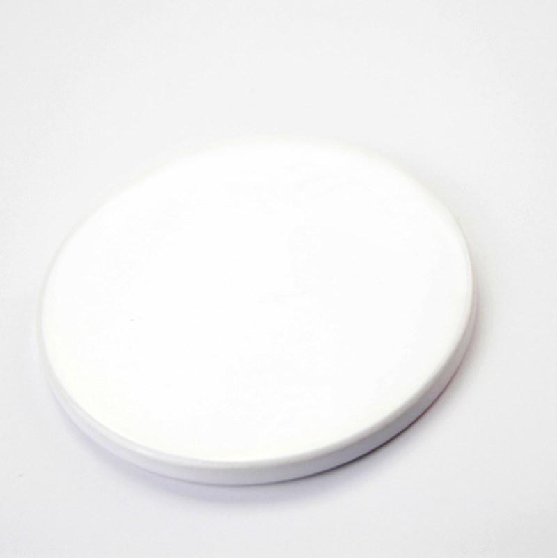 التسامي فارغة كوستر السيراميك عالية الجودة الأبيض السيراميك نقل الوقايات الحرارة كوستر الطباعة مخصص الوقايات الحرارية A02