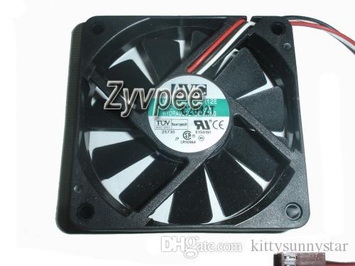 AVC 70x70x15mm C7015R12E 12V 0.1A 3Wire 7cm CPU Cooler Fan