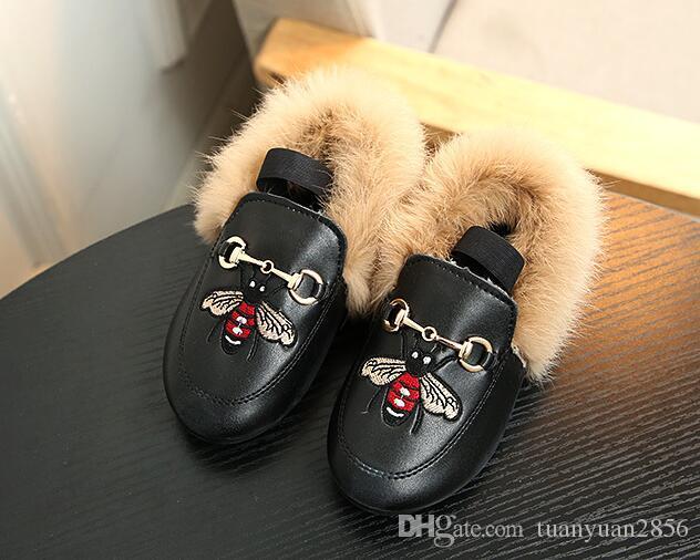 أطفال طفل الفتيات أحذية أزياء الأطفال طفل أفخم المخملية متعطل أحذية بنات الأميرة حزب أحذية المخملية المطرزة حذاء جلد
