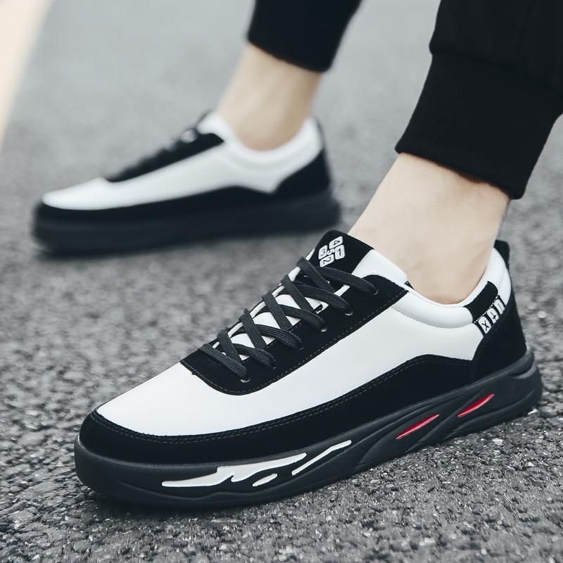 Automne de haute qualité Hommes Chaussures Casual Mode souple respirant Chaussures à lacets Homme