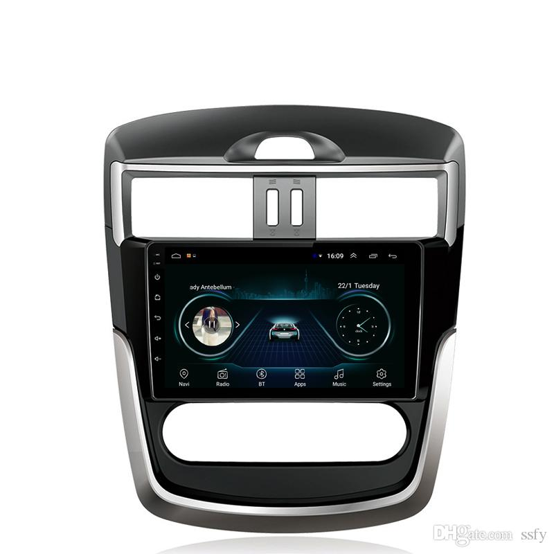 Android car radio with precise GPS music multi-touch screen vidio Resolution HD 1024* 600 excellent microphone for Nissan new tiida 9inch