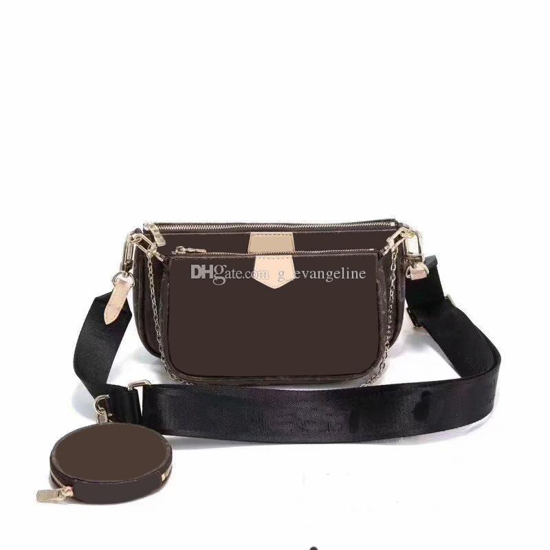 Brand New marque de mode sacs crossbdoy V M44813 classique à trois dans un sac sacs à main de luxe sacs à main des sacs de monnaie sac chaîne épaule