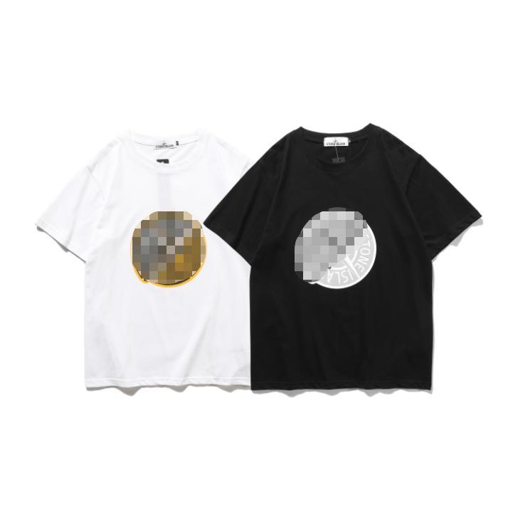 Мужская бренд дизайнерская футболка Женская футболка роскошная модная рубашка с коротким рукавом джемперы повседневная мужская одежда уличная остров пуловер 20041601L