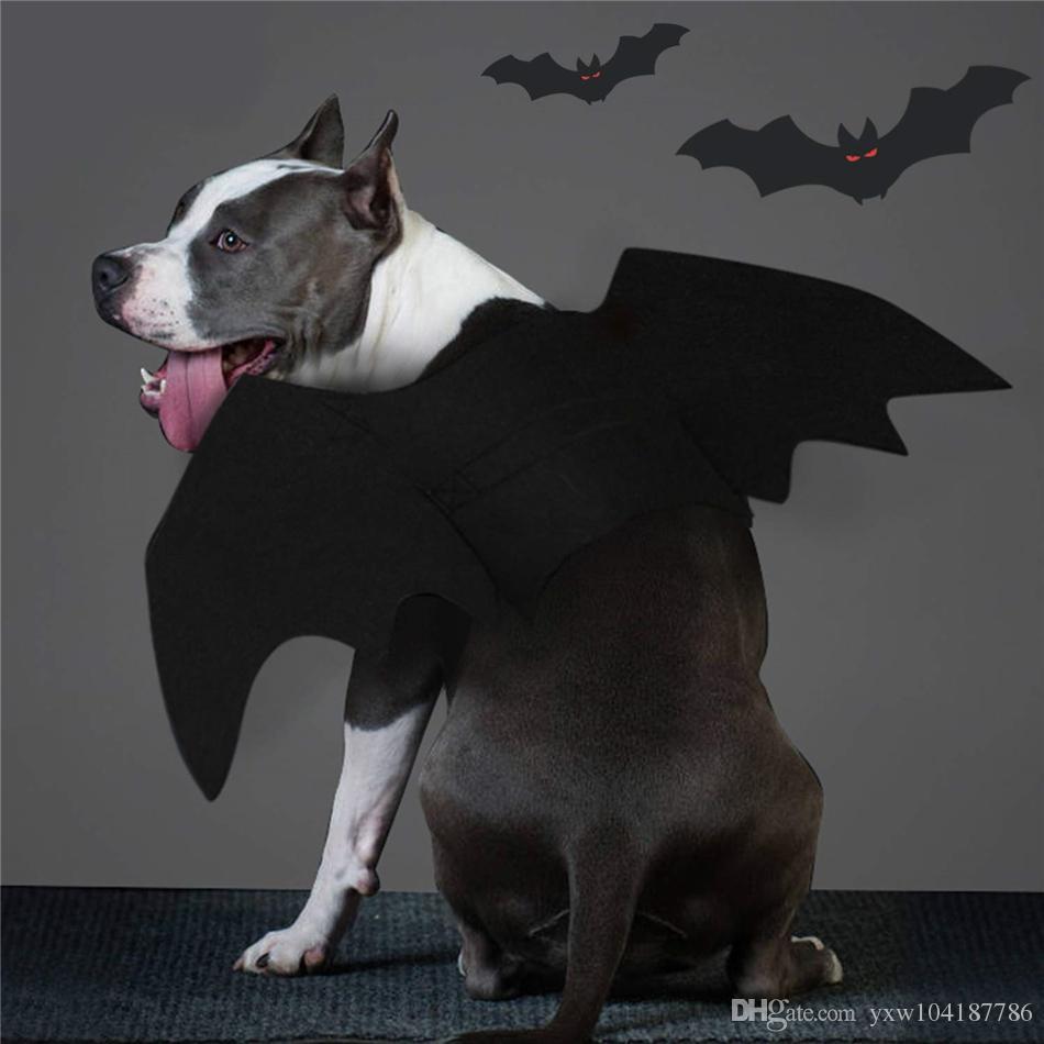 كلب بات ملابس - ازياء عيد الميلاد هالوين الحيوانات الأليفة زي أجنحة الخفافيش تأثيري زي الكلب الحيوانات الأليفة للحزب