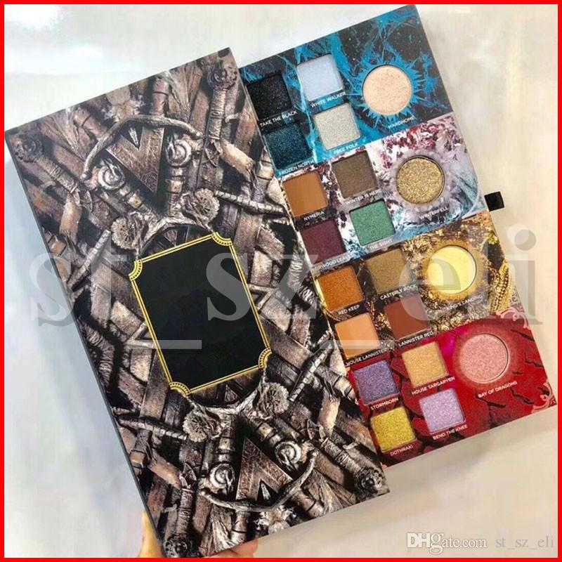 Game of Thrones Limited Edition 20 Colors Matte Shimmer Eye Shadow Eyes Cosmetics Pressed Eyeshadow Palette