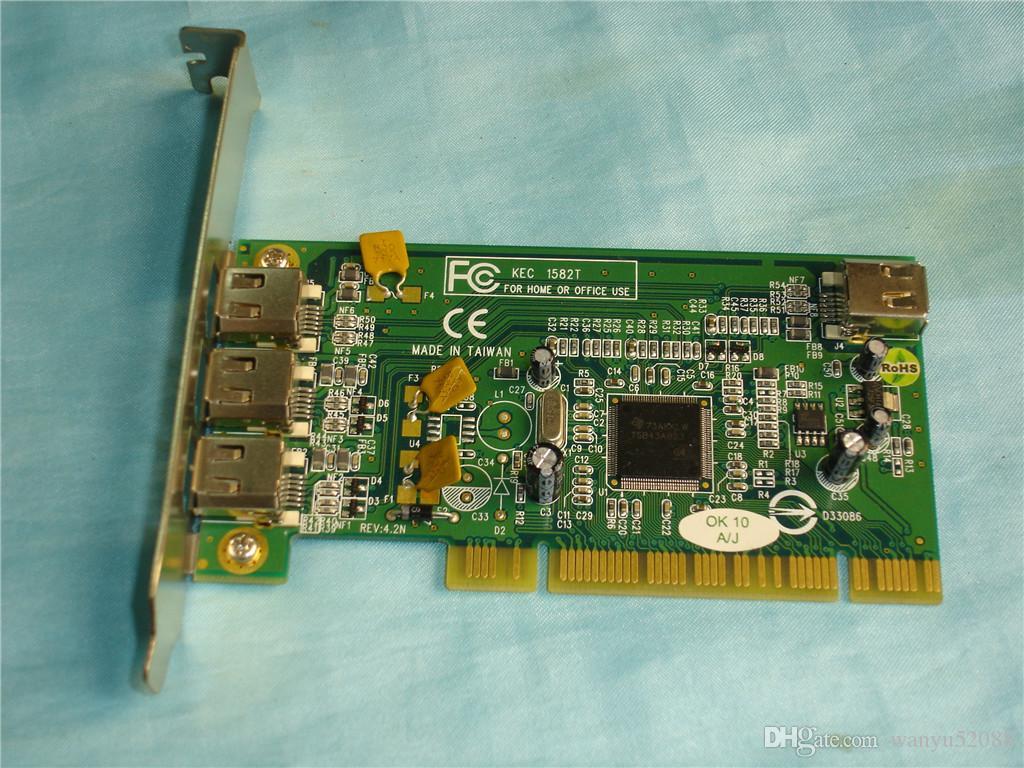 100% испытала работу Идеально подходит для KEC-1582T REV: 4.2N 1394A (FireWire)