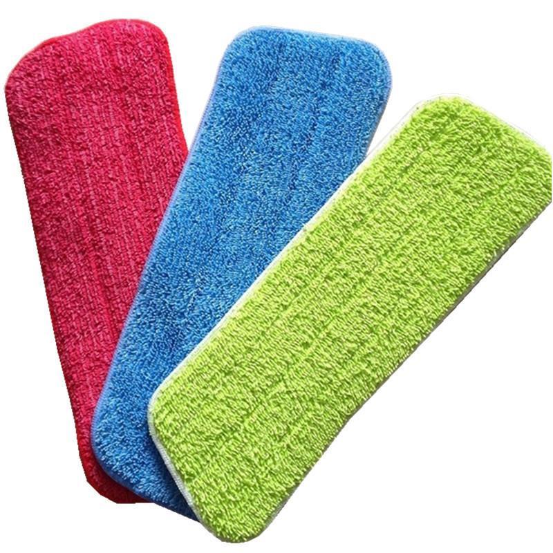 1 шт. Из микрофибры для мытья полов паста заменить ткань бытовая швабра аксессуары инструмент для очистки C19041701