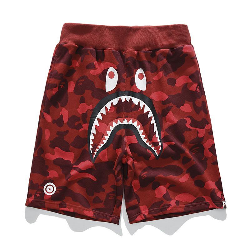 20 дизайнерские Мужские шорты летние роскошные короткие брюки акула голова мужская Марка Jogger брюки открытый шорты повседневные Homme короткие брюки C1 2020701K
