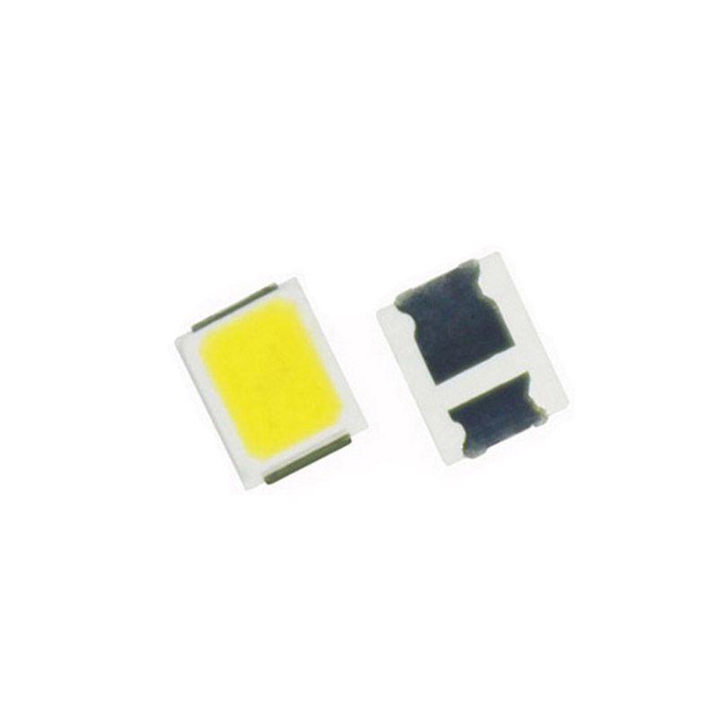 SMD LED 2835 رقائق 0.2W 0.5W 1W حبات الضوء الأبيض الدافئ سطح جبل PCB ضوء الصمام الثنائي مصباح