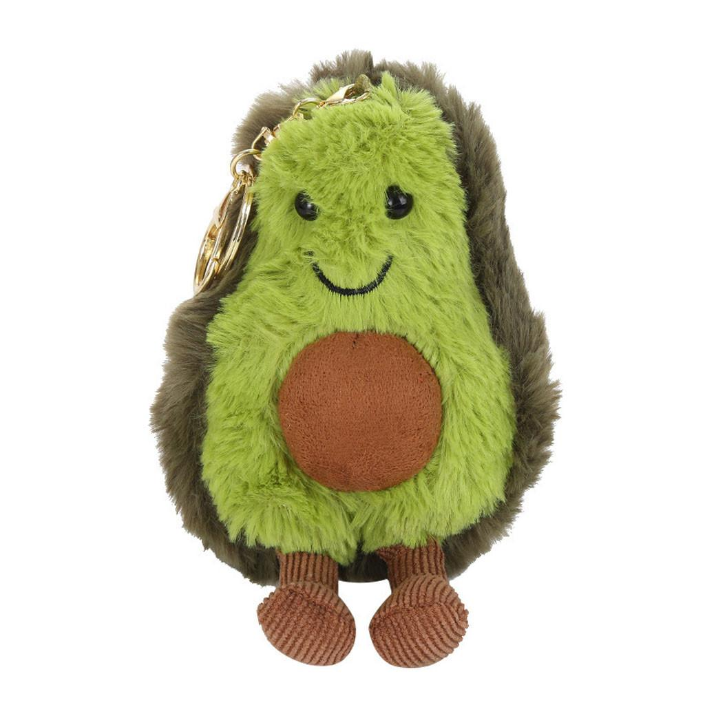 2019 Avocado Plush Toy Pendant Doll Cartoon Avocado Cute Soft Toy 5.9 inch peluche juguetes peluche baby stuffed animals