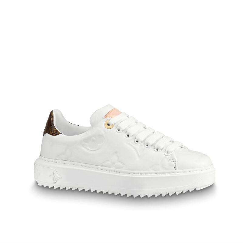 Mens Womens plataforma New Time Out Sneakers Low Cut Shoes For Leather Mulheres Tripler Sports Casual Luxury Sneaker Trainers Tamanho 35-44