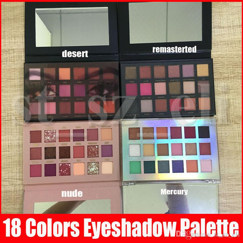 5 Types 18 Colors Eyeshadow Palette Paletes eyes Makeup Eye shadow Beauty Palette Natural Matte Shimmer Cosmetics
