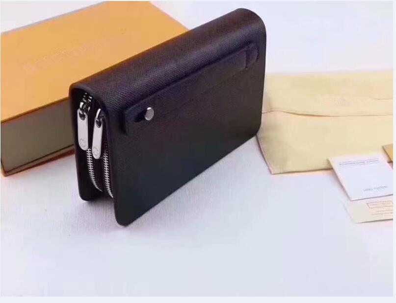 all'ingrosso del progettista di modo di prezzi della frizione del cuoio genuino di trasporto libero Zippy XL della borsa del raccoglitore Mano con scatola sacchetto di polvere 20012