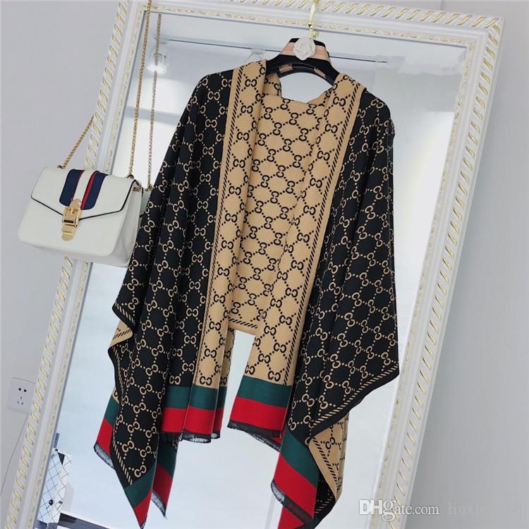 2019 новый квадрат Desinger шарф Высокое качество моды роскошь печати Элегантная дама бренда шарф оптовой бесплатную доставку wj0003