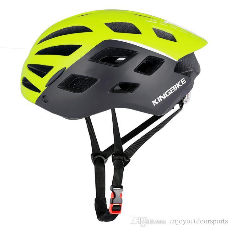 Bisiklet Kaskı İçin Erkekler Kadınlar Polarize Gözlük MTB Bisiklet Kaskları ile Led Işık Ultralight Yolu Dağ Bisiklet Kaskları Bisiklet Gözlük TA5X