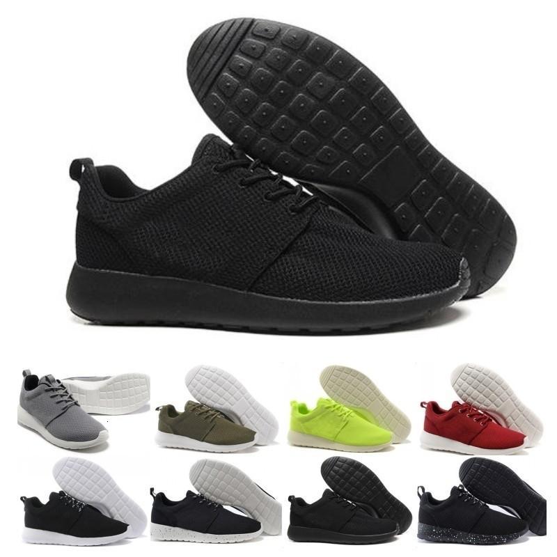 Büyük İndirim Run Erkekler Kadınlar Günlük Ayakkabılar Londra Olimpiyat Ros siyah, kırmızı, beyaz, gri, mavi Açık Yürüyüş Sneakers Ayakkabı bize 5-11