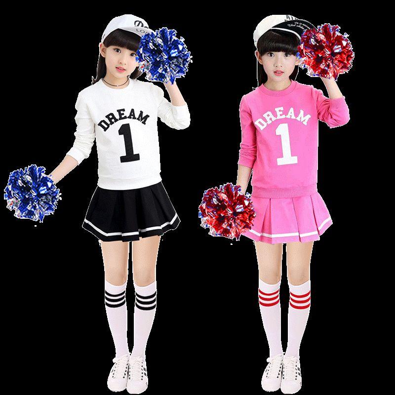 Cheerleading Dance Costume Female Cheerleader Clothing Ballroom Dance Competition Dresses