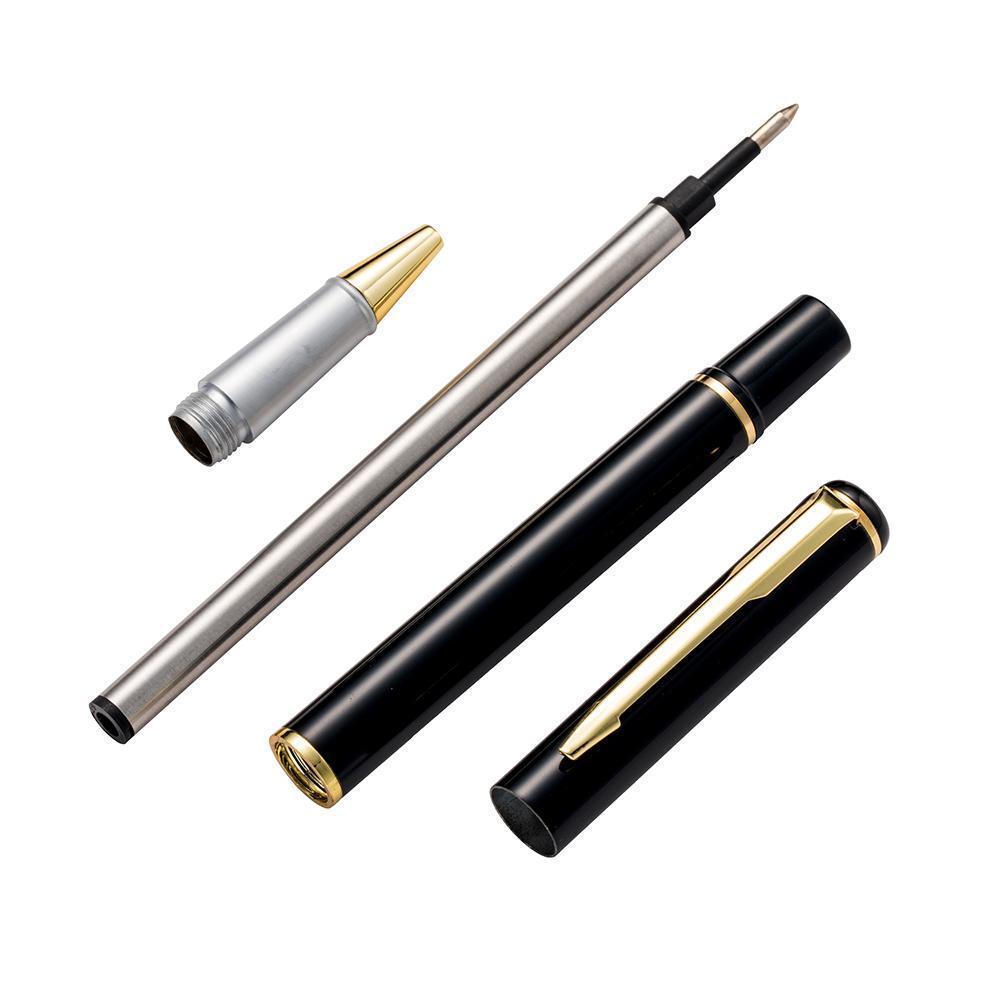 Black Metal penna di forniture per ufficio Regali d'affari Firmata da regalo Penna Pubblicità Pen all'ingrosso