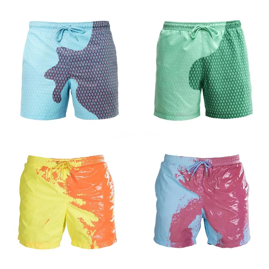 Wholesale- Camouflage Swimming Trunks Sexy Swimwear Mens Swimming Trunks Summer Men'S Swim Brief Patchwork Gay Swimsuits Q82#695