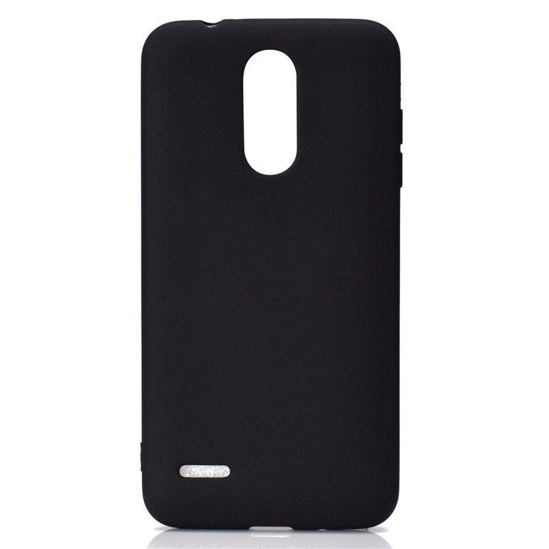 Şeker Renk Kapak LG K8 2018 Durumda Yumuşak TPU Ultrathin Tasarımcı Mobie Telefon Kılıfları Capinha