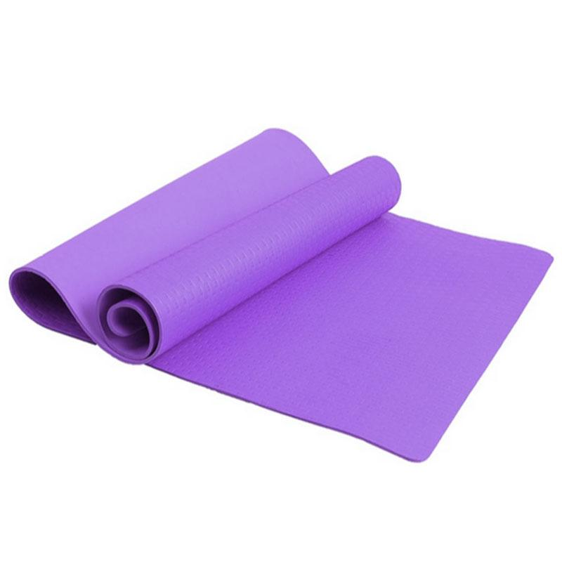 OOTDTY New Fashion Durable 4mm Thickness Yoga Mat Non-slip Exercise Pad Health Lose Weight Fitness Soft 2018 High Quality
