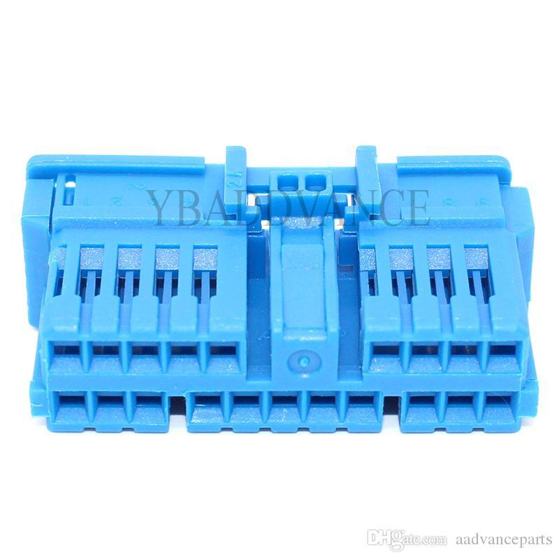 Hochwertiger weiblicher Tyco Auto AMP 20 Pin Stecker 282991-3 für LKWs