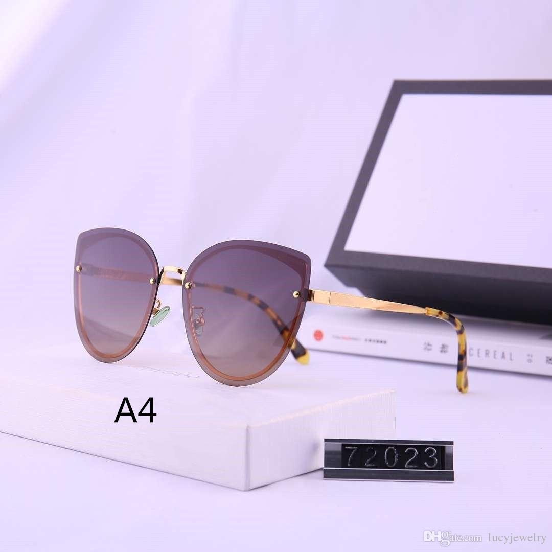 Gafas de sol para mujer Gafas de sol Gafas de verano Gafas Gafas 10 Opciones de color Altamente Calidad